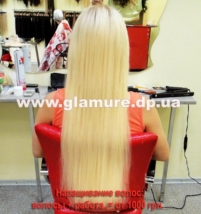 Прически для нарощенных волос